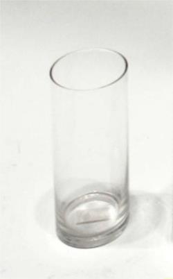 jarron de cristal tubo xcm